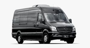 luxury minibus hire, Mercedes Benz sprinter van